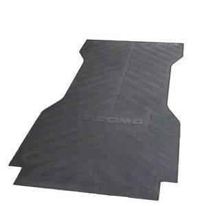 For Toyota Tacoma 2005 2017 Long Bed Mat Rubber Genuine Oem Pt580 35050 Lb