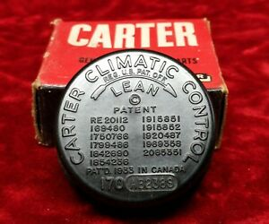 New Nos Carter Carburetor Carb Choke Coil Thermostat Cover 170ab 238s Chevy Wcfb