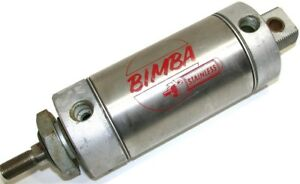 Up To 2 Bimba 3 Stroke Large 3 Bore Stainless Air Cylinders 703 dxp