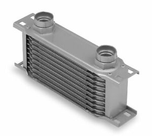 Earls 21045erl Earls Temp A Cure Oil Cooler Grey 10 Rows Narrow Cooler