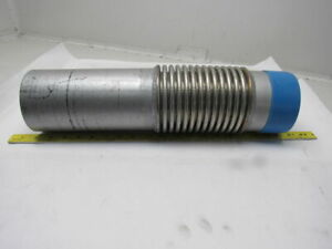 4 Threaded X Weld On Single Bellow Flexible Expansion Coupling Tail Pipe