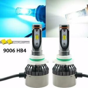 6000k 8000k Dual White Ice Blue 9006 Hb4 Led High Low Beam Light Headlight