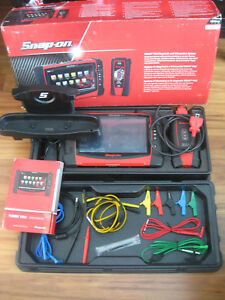 Snap On Solus Pro Diagnostic Scanner 17 4 Euro Asian Domestic Docking Station