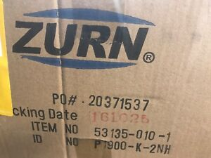 Zurn P1902 k 2nh 12 X 12 X 2 1 4 Cast Iron Deep Floor Sink Drain Sump