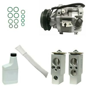 Ryc Remanufactured Complete Ac Compressor Kit Gg370