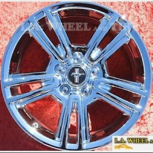 Exchange Set Of 4 Chrome 17 Ford Mustang Factory Oem Wheels Rims 3808