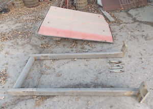 Massey Ferguson Tractor Cab Shaped Shade Top With Roll Bar Umbrella Roof