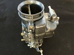 Holley 94 2100 Primary Carb Silver Vein Hot Rod Rat Flathead Tripower