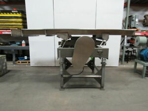 Griffin Co Vibratory Shaker Conveyor 53 1 2 W X 142 l 2hp Stainless Steel