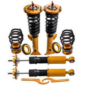 For Bmw E36 318 325 M3 3 Series Adj 24 Damper Tuning Coilovers Shock Absorbers