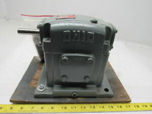 Ohio Gear H u 1 10 1 Assembly B Right Angle Gear Reducer