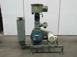 Fuller 6l f 10hp Positive Displacement Blower Package 208 230 460v 3ph