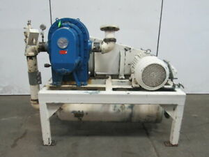 Fuller 8hv b 25hp Positive Displacement Blower Package 230 460v 3ph