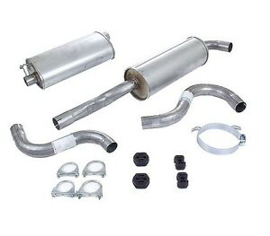 For Volvo 740 745 Exhaust System Kit 271366 Complete Kit Starla Brand New