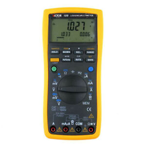 True Rms Record Type Intelligent Digital Multimeter Victor 189 With The Original