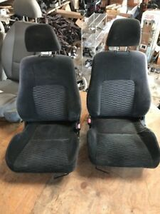 Jdm 97 01 Honda Prelude Bb6 Oem Cloth Front Seats Pair H22a Very Nice