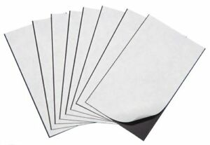 Marietta Magnetics 25 Magnetic Sheets Of 5 X 7 Adhesive 30 Mil