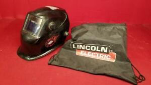 Lincoln Electric Viking 1840 Black Auto Darkening Welding Helmet K30 ss1036094
