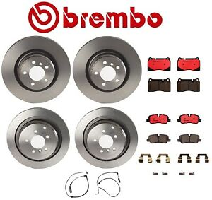 For Range Rover 2006 2008 4 2l Supercharged Front Rear Brake Kit Brembo