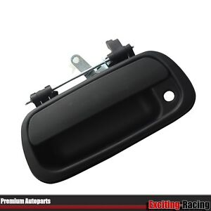 Black Rear Tail Gate Tailgate Handle For 2000 2006 Toyota Tundra Pickup Truck