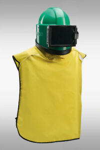 Clemco Apollo 100 Ce Operator Safety System Supplied air Respirator Blast Helme