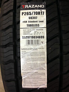 New Trazano Westlake Su307 Suv Performancetires P265 70r17 115h