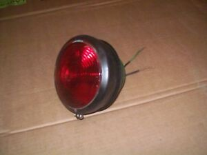Oliver 1600 1800 1900 Farm Tractor Factory Original 12 Volt Tail Light Works
