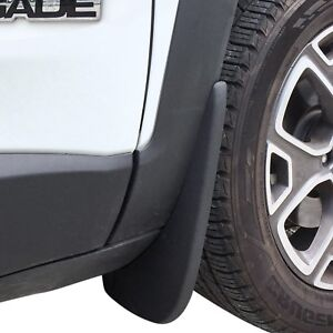 Fits Jeep Renegade Mud Flaps 15 18 Guards Splash Shield Molded 2 Piece L R Front