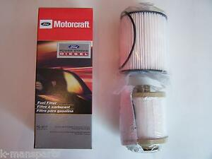 2008 2010 Ford Motorcraft 6 4 F series Diesel Fuel Filter Fd4617