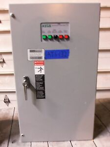 Asco 150 Amp Non Automatic Transfer Switch 3 Pole Ats 208v Series 386 Manual