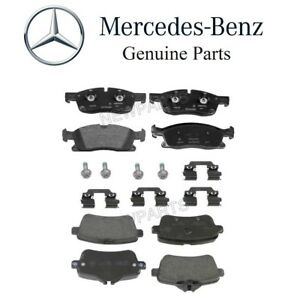 For Mercedes Ml350 Gle300d Gle350 Ml250 Set Of Front Rear Brake Pads Set Oes