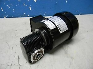 Bison 1 8 Hp Right Angle Ac Gearmotor 30 1 Ratio 115v 026 756 3430