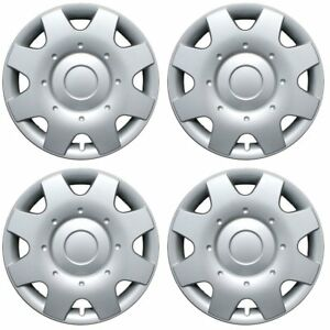 Hubcaps Fits 02 05 Volkswagen Beetle 16 Inch Silver Replacement Wheel Cover Rim