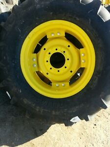 2 14 9x24 8 Ply John Deere Tractor Tires Wheels With Centers