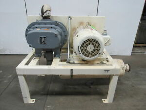 Gardner Denver 8hp Gahhdpa 50hp Positive Displacement Blower Package 460v 3ph