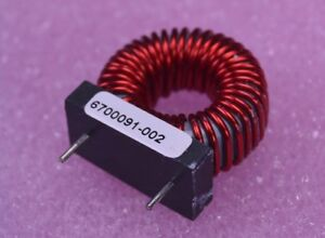 Toroid Power Inductor 2 53mh Hi Reliability 18 Awg P n 6700091 002