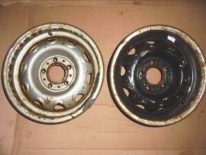 1970s Mopar Dodge Plymouth O e m 5 5 X 14 Rally Wheels W 4 1 2 Bolt Circle