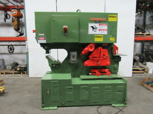 Peddinghaus 110 175h 110 Ton Hydraulic Ironworker Metal Working Fabrication