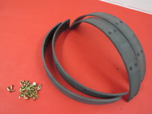 New 1932 34 Ford Molded Brake Shoe Lining Set does 2 Wheels 40 2007 m