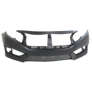 New Bumper Cover Facial Front Coupe Sedan For Civic Ho1000306 04711tbaa00zz