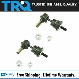 Rear Suspension Sway Bar End Link Lh Driver Rh Passenger Pair 2pc For Mazda 3