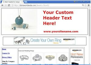 Turnkey Jewelry Store Website For Sale Free Bonuses Free Set Up plus Much More