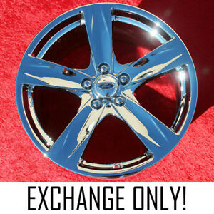 Exchange Set Of 4 Chrome 19 Ford Mustang Factory Oem Wheels Rims 3910