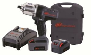 Ingersoll Rand 7150 K2 20v 1 2 Cordless Impact Kit W 2 Batteries