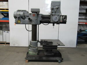 Giddings Lewis Type 951 4 X 9 Bickford Chipmaster Radial Arm Drill Press