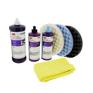3m Perfect It Buffing Polishing Kit 39060 39061 39062 05723 05725 05751 6017