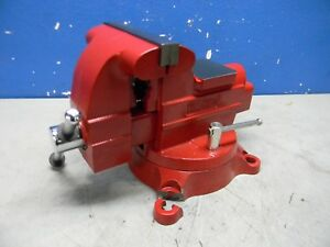 Wilton Bench Pipe Combination Vise 6 1 4 Jaw Width 6 Opening 656hd
