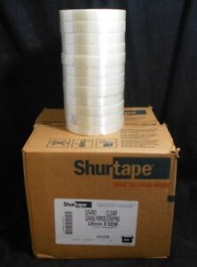 Shurtape General Purpose Fiberglass Reinforced Strapping Tape 18mm X 55m 48pk