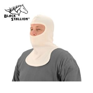 Black Stallion Nh400 Nomex Knit Double Layer Sock Hood With Front back Drapes
