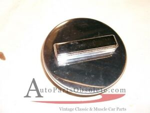 1967 68 69 70 Valiant Dart Swinger All Chrome Gas Cap New